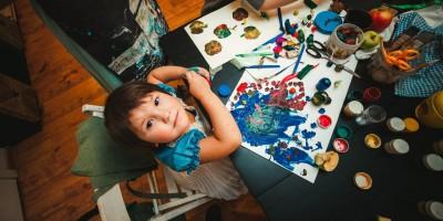 свободное рисование для детей